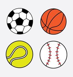 balls design vector image