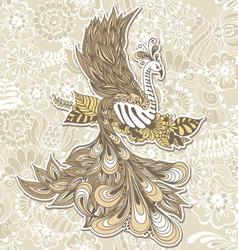 Bird Phoenix menndi vector image vector image