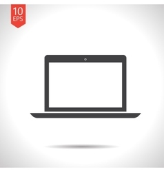 laptop icon Eps10 vector image vector image