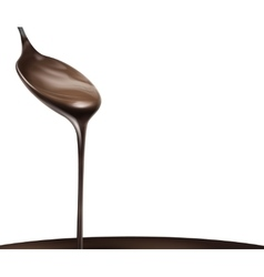 Liquid chocolate vector