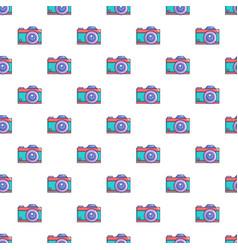 Retro camera pattern seamless vector