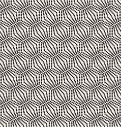 seamless monochrome pattern geometric with circle vector image