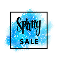 season sale banner vector image vector image