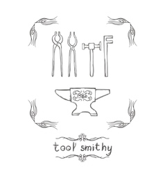 Tool Smithy Three vector image