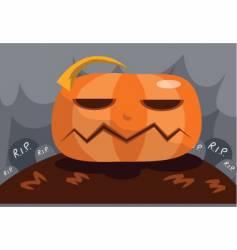 pumpkin bore vector image