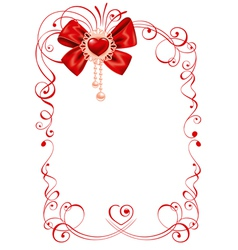 Valentines day beautiful background vector