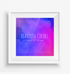 Ink colors background vector