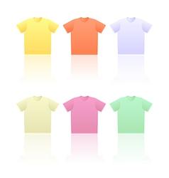 T shirts vector