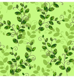 Sweet pea seamless pattern vector