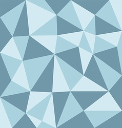 Low polygon blue tone vector