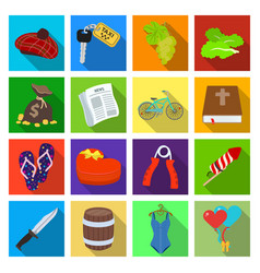 Business tourism recreation and other web icon vector