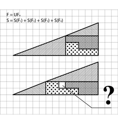 Geometric problem - the test for intelligence vector