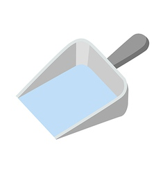 Icon dustpan vector