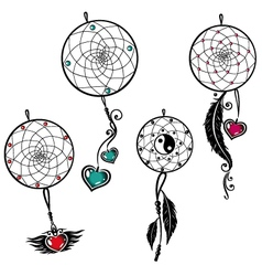 Dreamcatcher dream catcher vector image
