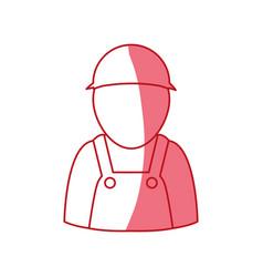 Car mechanic avatar vector