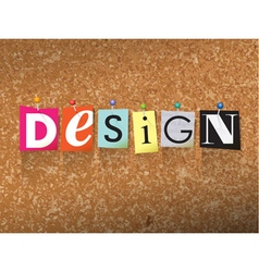 Design Concept vector image