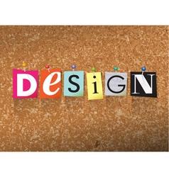 Design Concept vector image