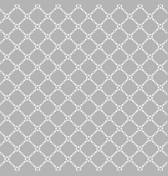 Lattice pattern with trendy lattice on a gray vector