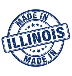 Made in illinois vector