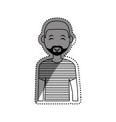 Man cartoon isolated vector