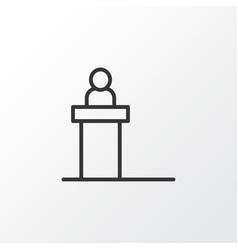 Scene icon symbol premium quality isolated vector