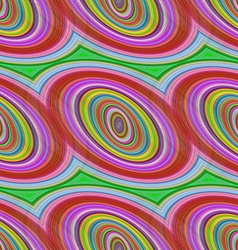 Colorful seamless ellipse pattern background vector