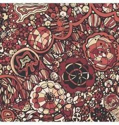 Hand drawn ornamental Pattern vector image vector image