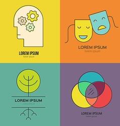 Psychology logo vector