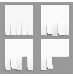 Advertisement Templates vector image