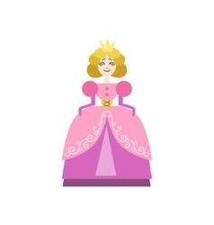 Fairytale Princess Drawing vector image
