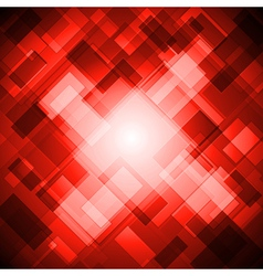 Bright red design vector image vector image