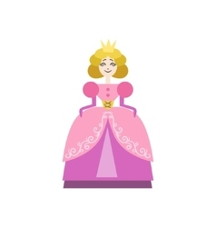 Fairytale Princess Drawing vector image