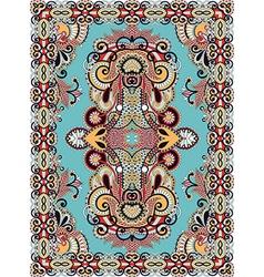 Seamless carpet design vector
