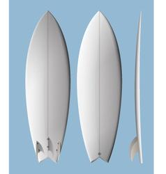 Surfboard fish vector