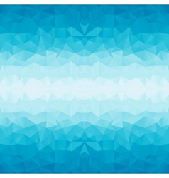 Polygonal blue background vector