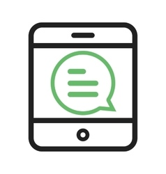 Text message ii vector