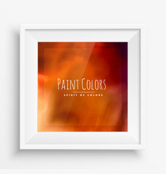 Colors background frame vector