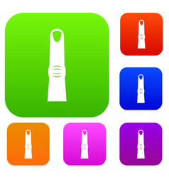 finger set collection vector image
