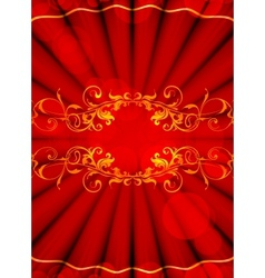 Luxury Backdrop vector image vector image