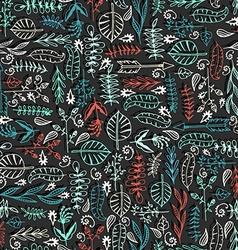 Natural seamless pattern vector