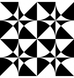 seamless geometric op art design vector image vector image