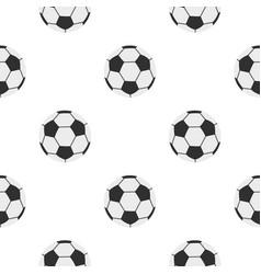 Soccer ball pattern seamless vector