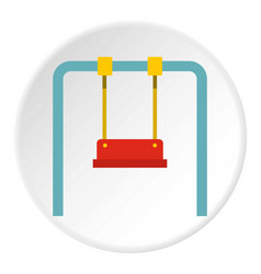 Swing icon circle vector