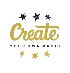 Create your own magic vector