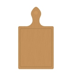 Cutting board wooden tool vector