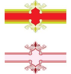 Pattern banner vector