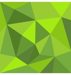 Green triangle wrapping flat background or pattern vector