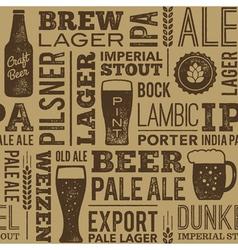 Beer Pattern 02B vector image