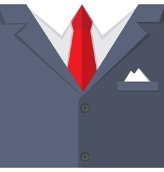Buisness mans suit bg vector