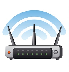 router vector image vector image
